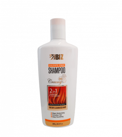 شامپو سولفات فری مناسب موهای خشک و آسیب دیده