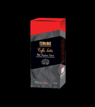 قهوه لاته با قارچ گانودرما