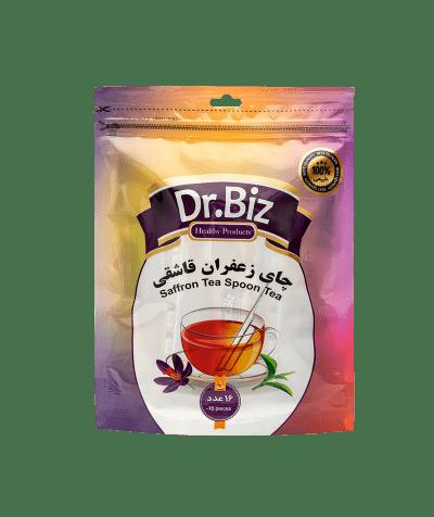 دمنوش قاشقی چای زعفرانی