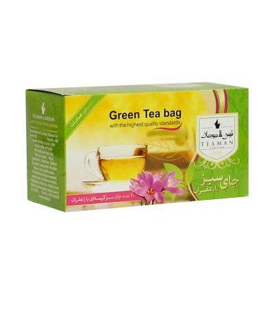 چای سبز کیسه ای در ۴ طعم